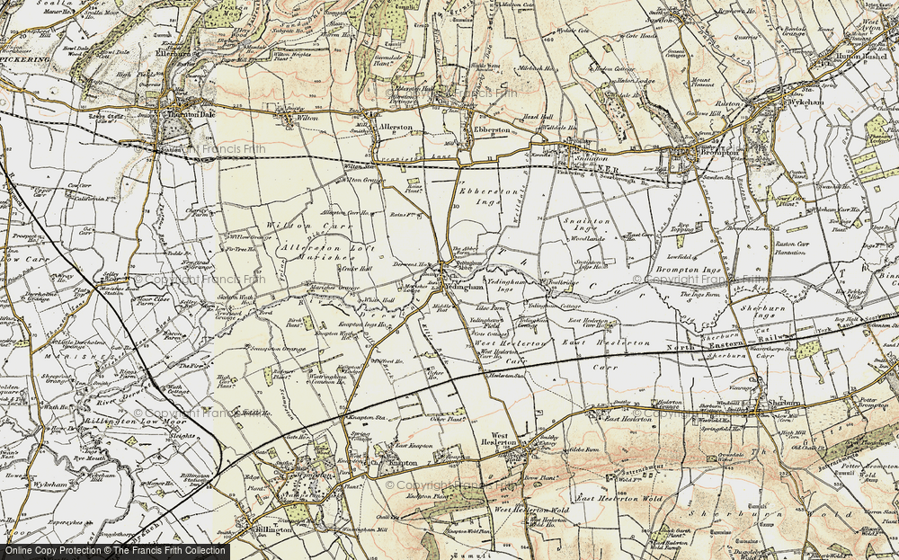 Old Map of Historic Map covering Westfield in 1903-1904