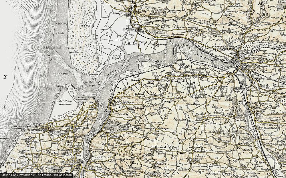 Yelland, 1900