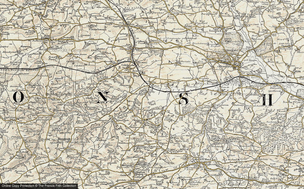 Yeoford, 1899-1900