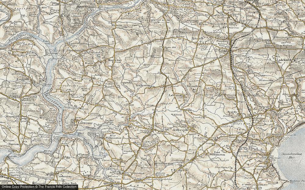 Yerbeston, 1901-1912
