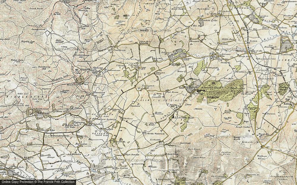 Yetlington, 1901-1903