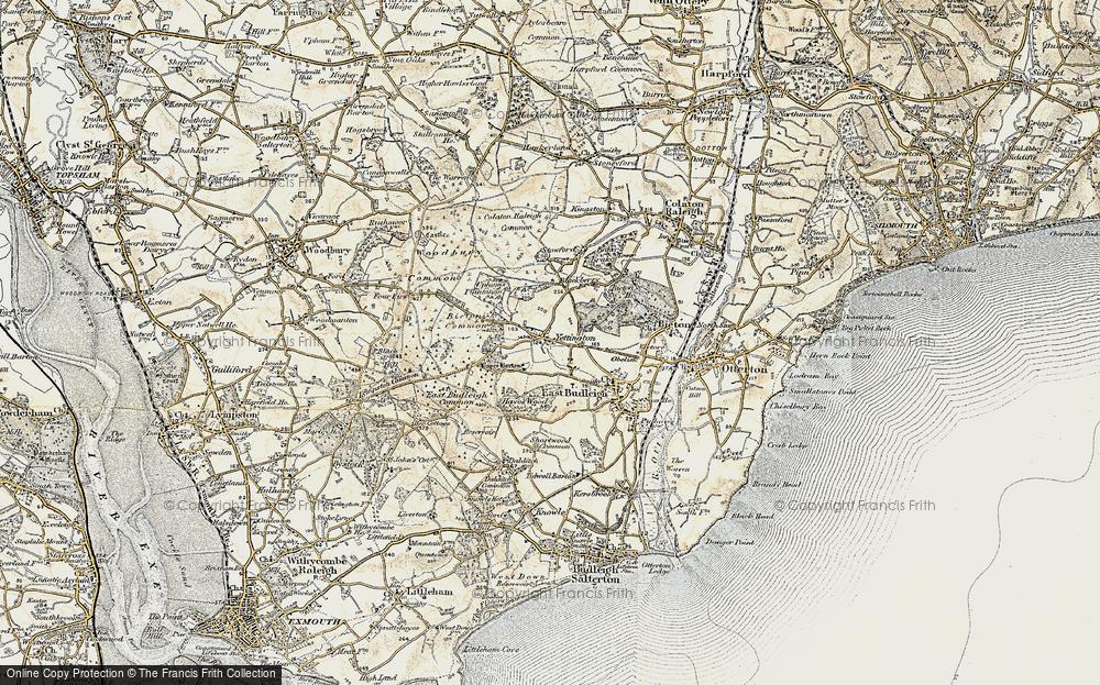 Yettington, 1899