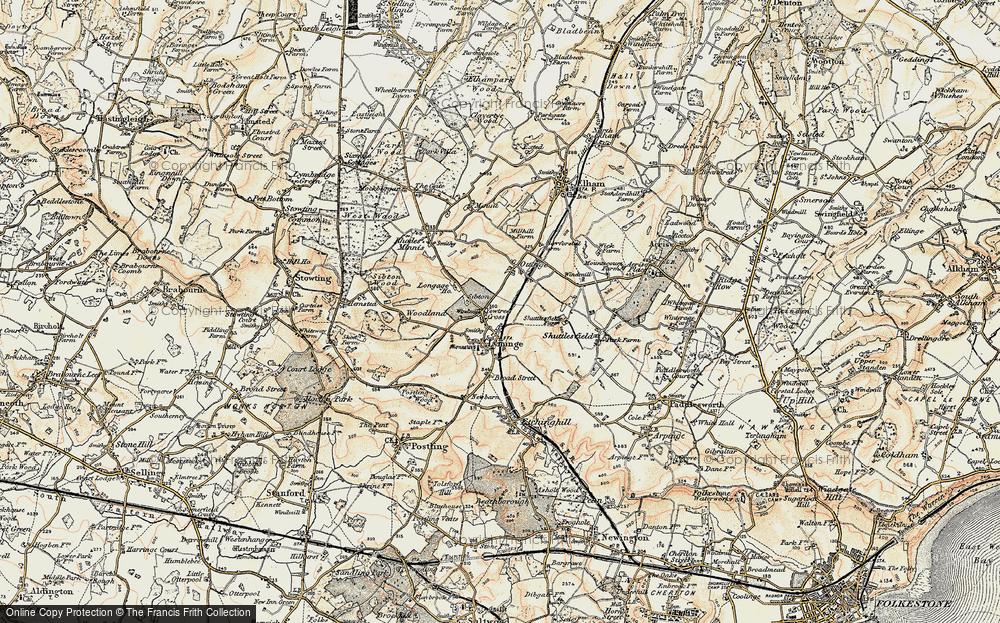 Yewtree Cross, 1898-1899
