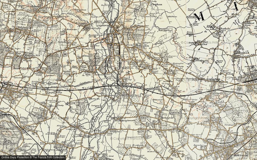 Yiewsley, 1897-1909
