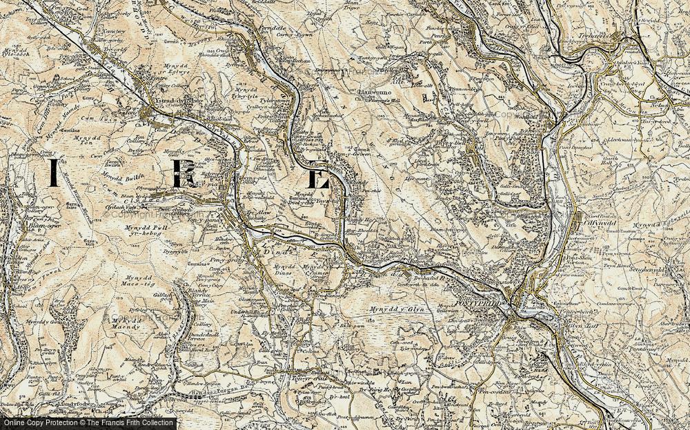 Ynyshir, 1899-1900
