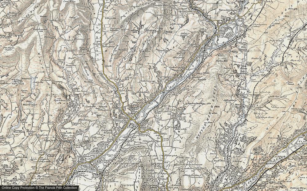 Ynysmeudwy, 1900-1901
