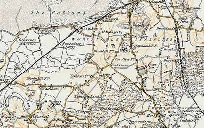 Old map of Yorkletts in 1898