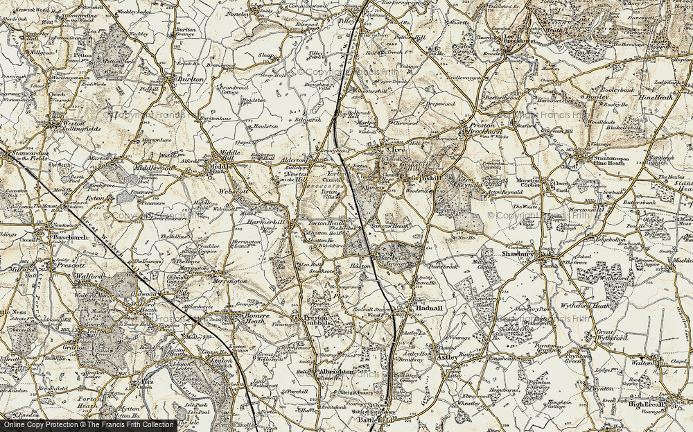 Yorton Heath, 1902