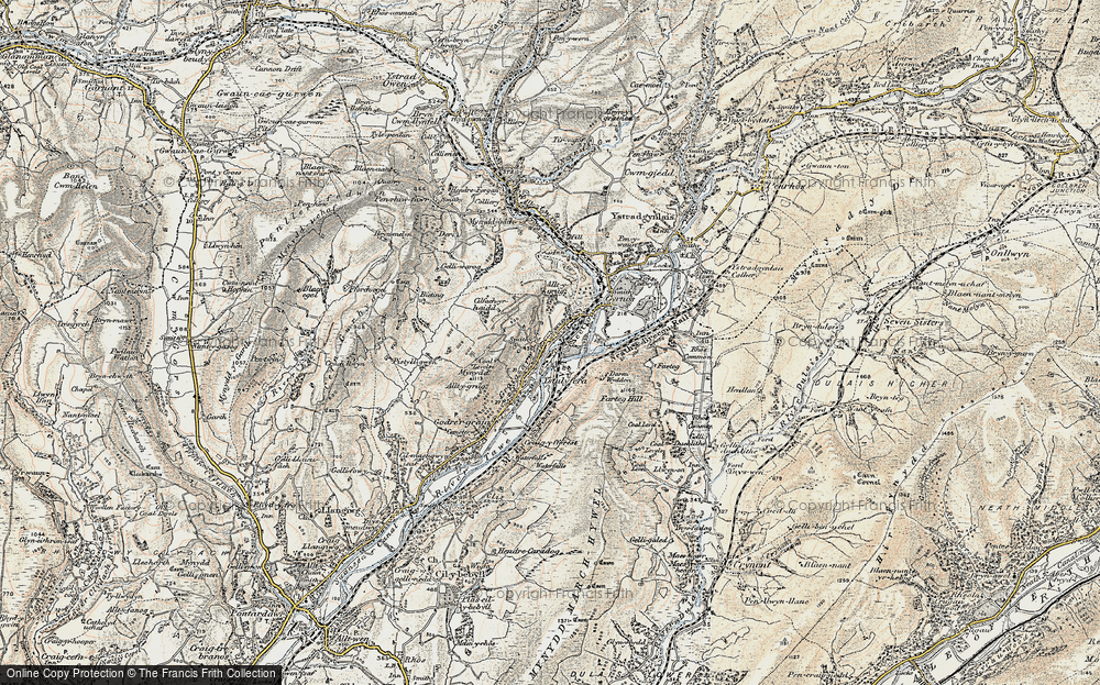 Ystalyfera, 1900-1901
