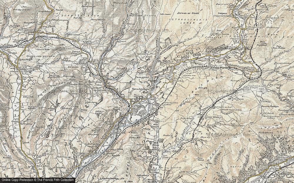 Ystradgynlais, 1900-1901