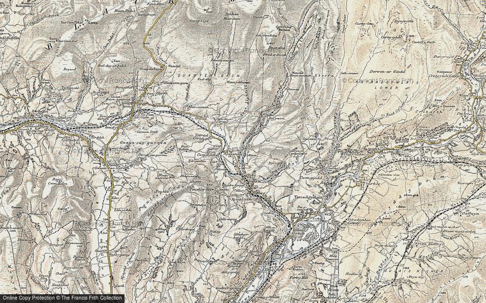 Ystradowen, 1900-1901