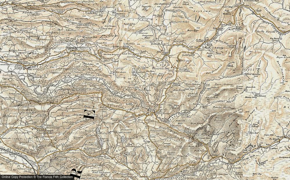 Ystumtuen, 1901-1903