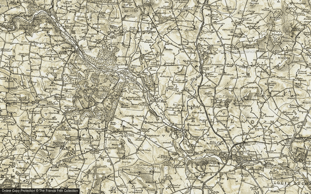 Ythanbank, 1909-1910