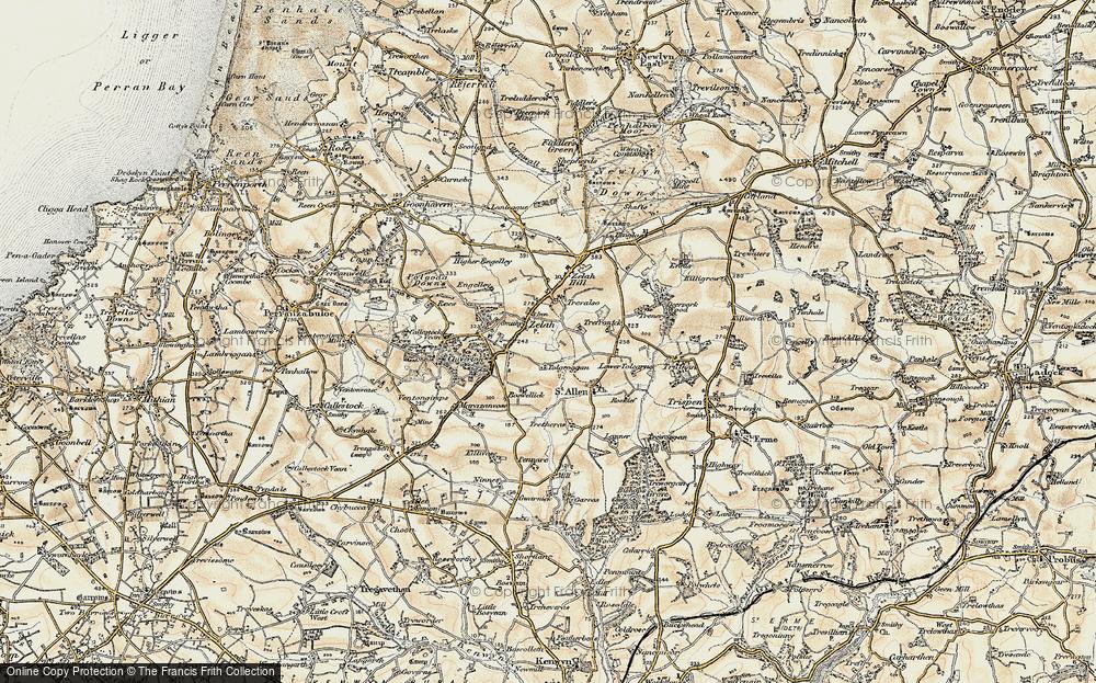 Zelah, 1900