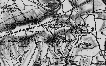 Old map of Ab Kettleby in 1899