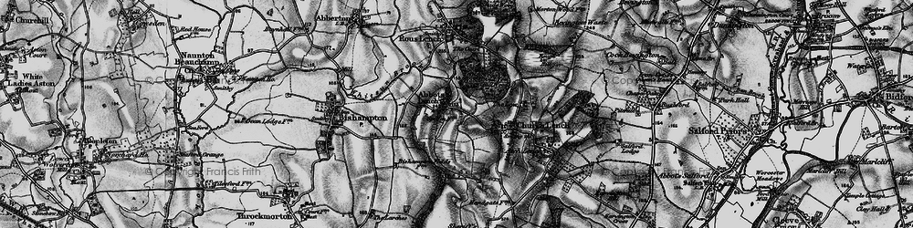 Old map of Ab Lench in 1898