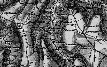 Old map of Abbey in 1898