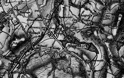 Old map of Abbey Village in 1896