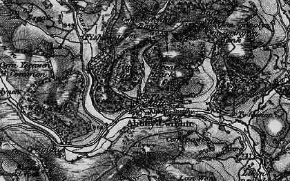 Old map of Abbeycwmhir in 1898