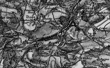 Old map of Abbeydale Park in 1896