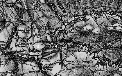 Old map of Abbeystead in 1898