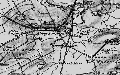 Old map of Abbeytown in 1897