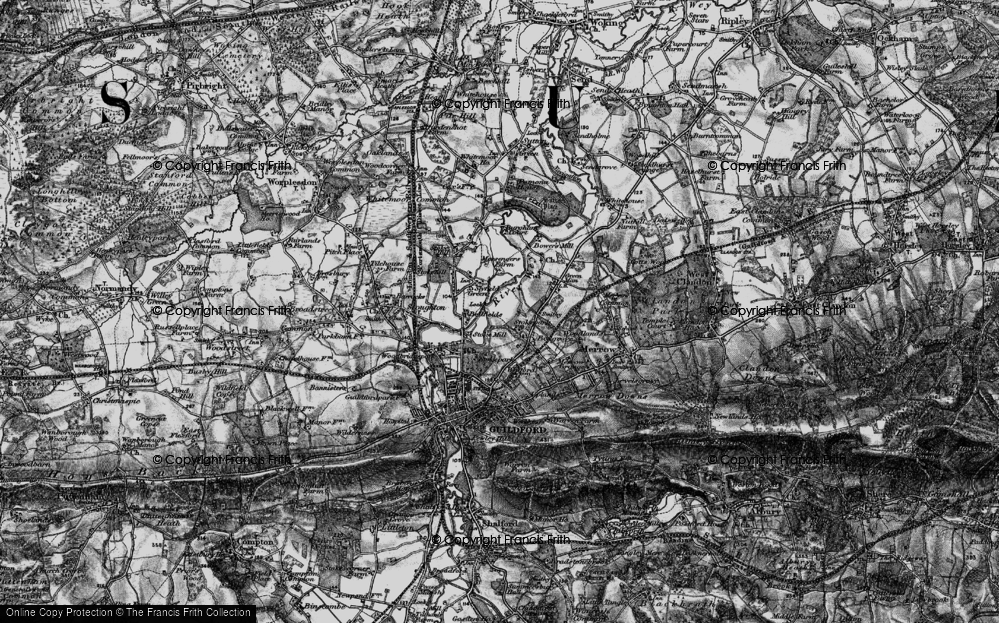 Old Map of Abbotswood, 1896 in 1896