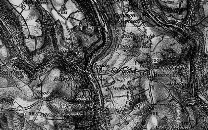 Old map of Aberbargoed in 1897