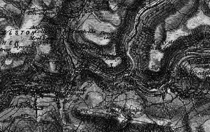 Old map of Abercregan in 1898