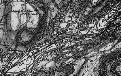 Old map of Ynys-y-gerwyn-fach in 1898