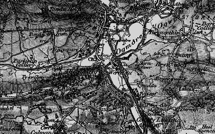 Old map of Aberkenfig in 1897