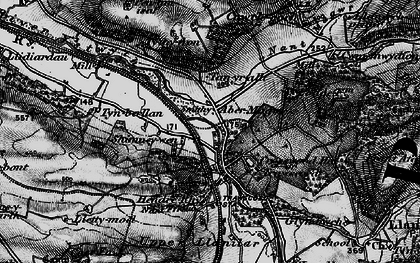 Old map of Abermagwr in 1898