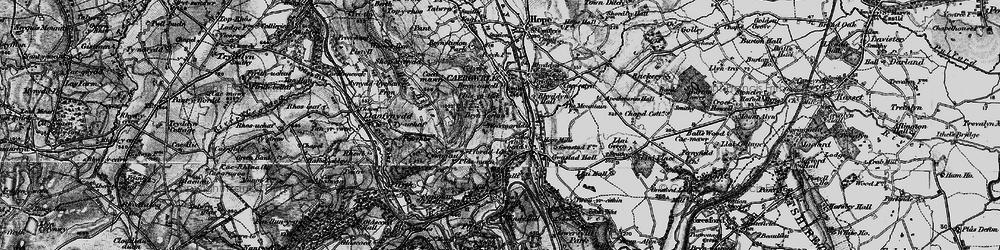 Old map of Abermorddu in 1897