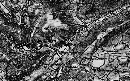 Old map of Aber-marchnant in 1899