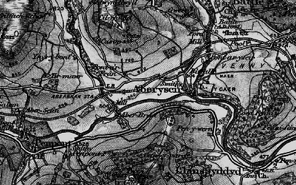 Old map of Aberyscir in 1898