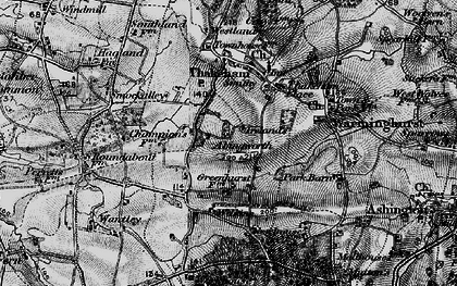 Old map of Abingworth in 1895
