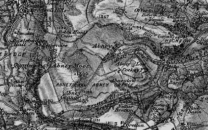 Old map of Abney Low in 1896