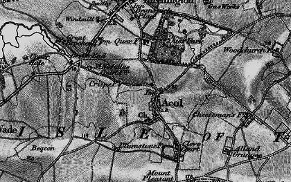 Old map of Acol in 1894