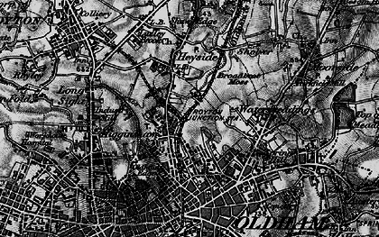 Old map of Acre in 1896
