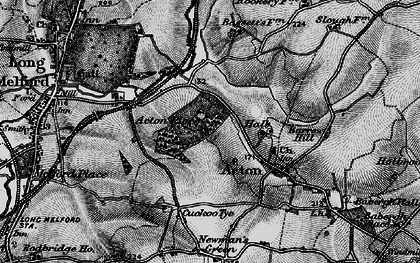 Old map of Acton Place in 1895
