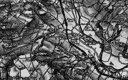 Old map of Addingham in 1898