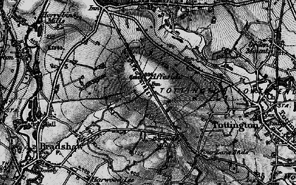 Old map of Affetside in 1896