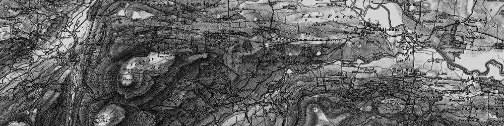 Old map of Agglethorpe in 1897