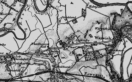 Old map of Whooff Ho in 1897