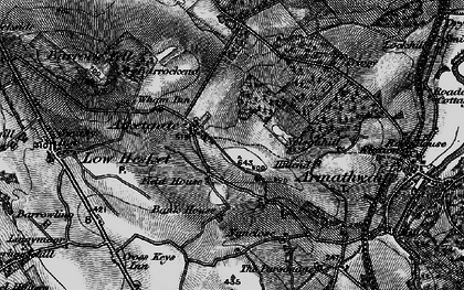 Old map of Aiketgate in 1897
