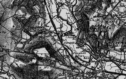 Old map of Aire View in 1898