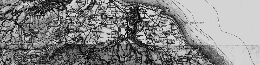 Old map of Airy Hill in 1897