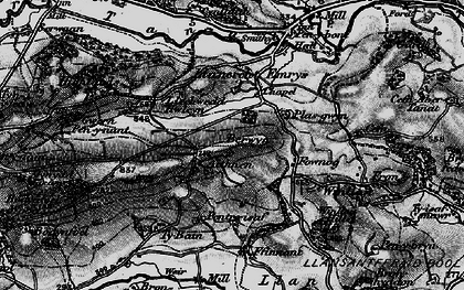 Old map of Aithnen in 1897