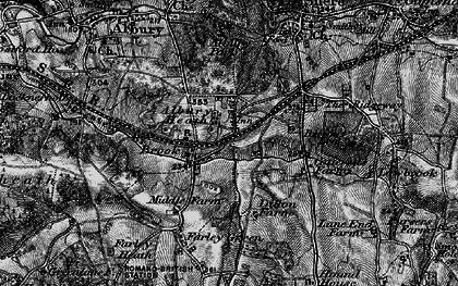Old map of Albury Heath in 1896