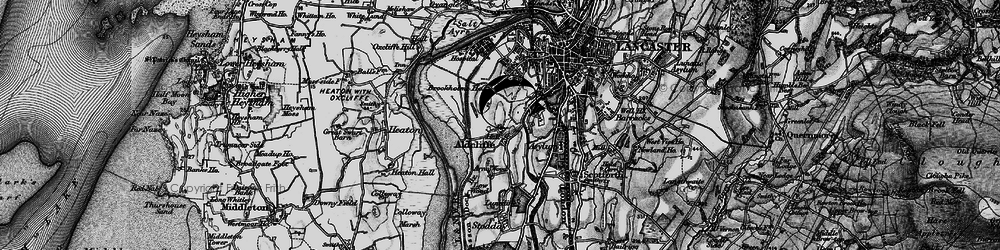 Old map of Aldcliffe in 1898